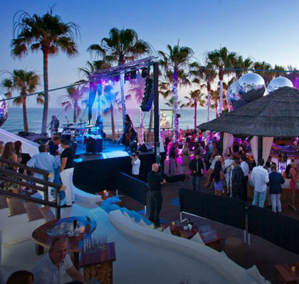 Ocio, Beach Clubs...