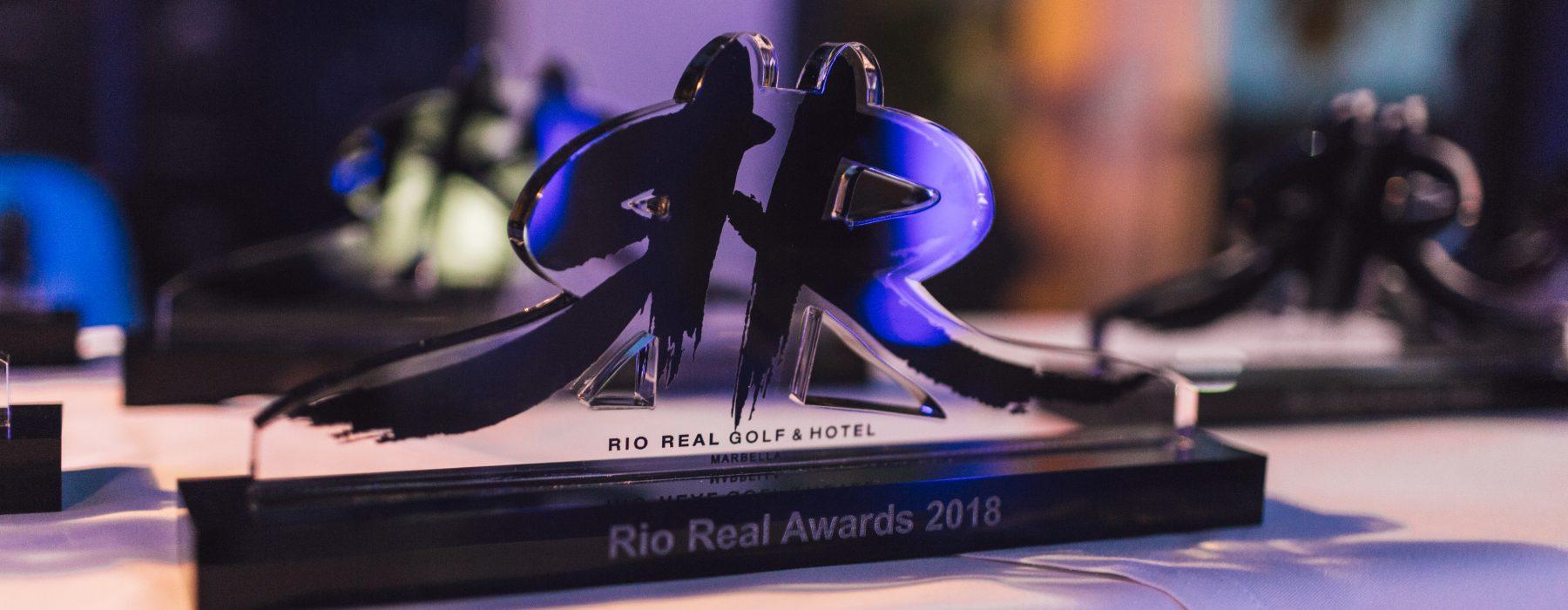 PREMIOS RIO REAL AWARDS, SEPTIEMBRE 2018